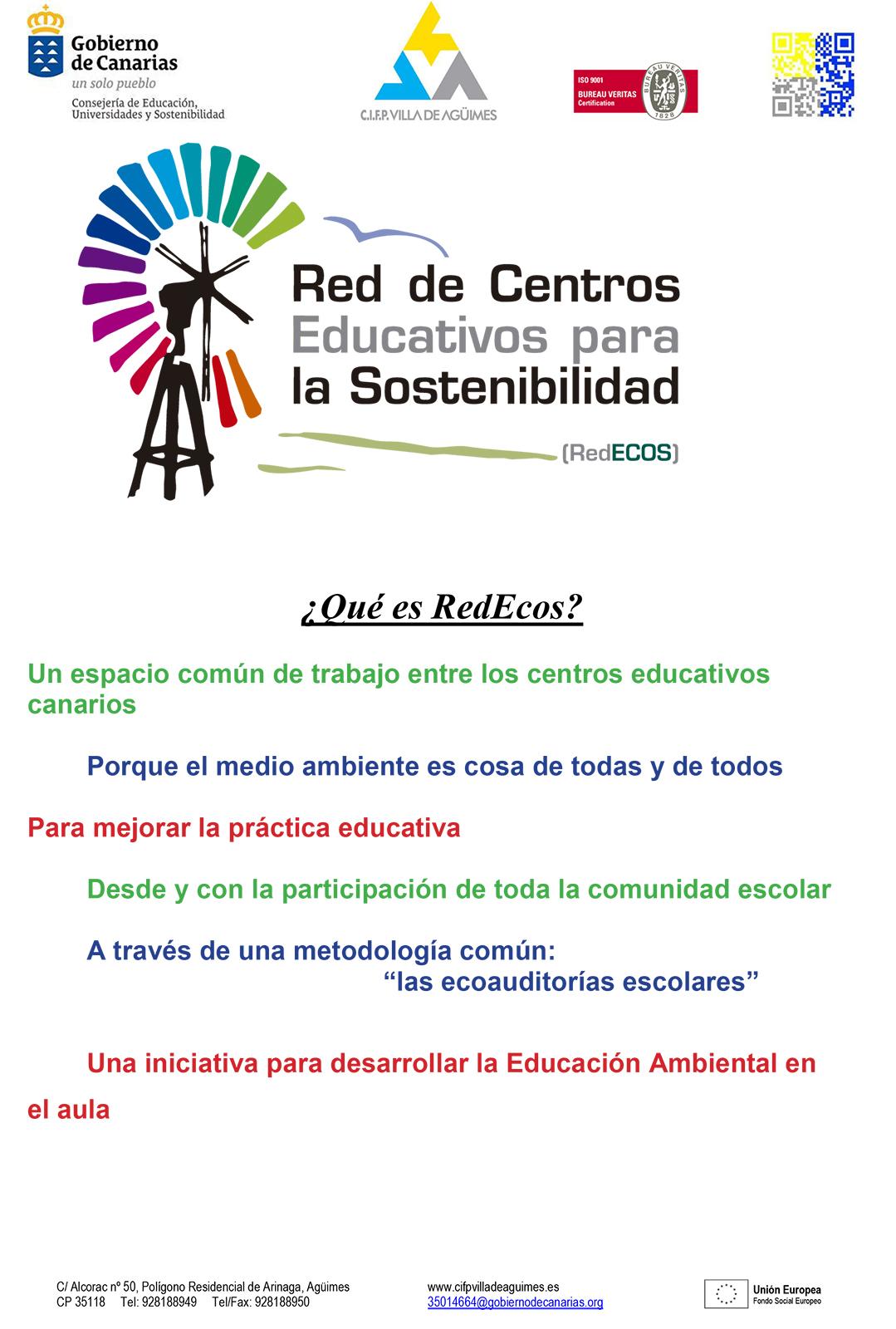 Cartel Red Sostenibilidad 2014