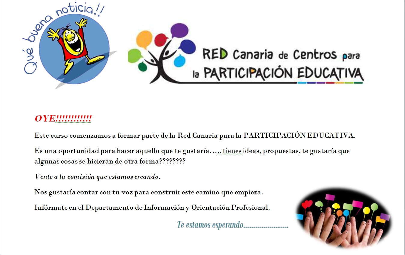 Cartel Red Participacion Educativa 2014